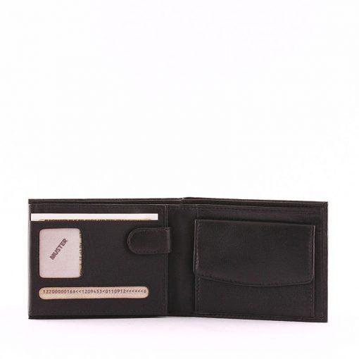 Minőségi bőrbőlkészültS Belmonte márkás igazi bőr férfi pénztárca modell, amely elegáns kialakítású kényelmesen használható modell.