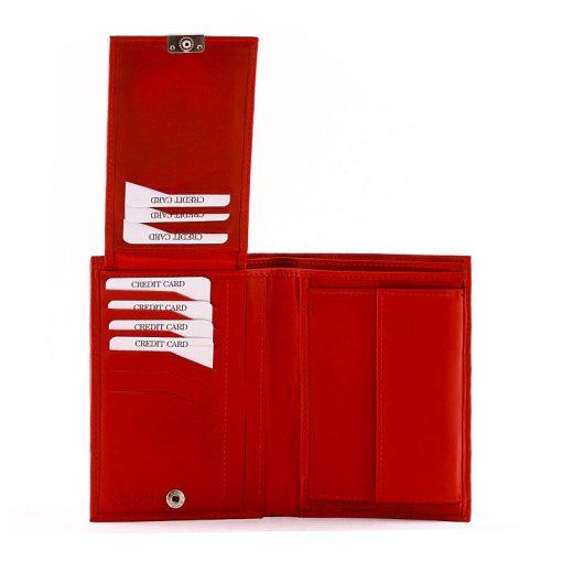 Minőségi kivitelben készültS Belmonte márkájú irattartó valódi bőr pénztárca amely rendkívül divatos kialakítással készült modellünk.