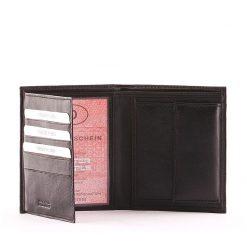 Kiváló, igazi bőrből készült márkás S Belmonte irattartó bőr pénztárca amely rendkívül praktikus belső elrendezéssel lett kialakítva.