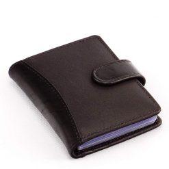 Minőségi precíz munkával valódi bőrből készült bőr kártyatartó, amely rendkívül divatos külsővel és igényes kialakítással rendelkezik.