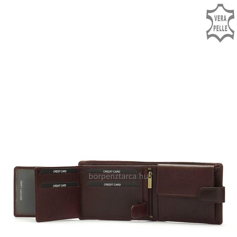 17ad016a24 Pénztárca valódi bőr La Scala R1021/T - Bőrpénztárca webáruház