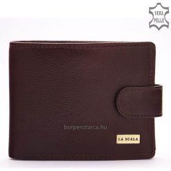 Kiváló megjelenésű, minőségi bőr felhasználásávalkészült,márkás, valódi bőr pénztárca, amelyet nagyon magas gyártási minőség jellemez.