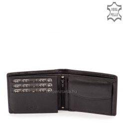 Minőségi kivitelben gyártjuk ezt a tartós bőrből készült LA SCALA divatos és egyben klasszikus férfi bőr pénztárca modellt.