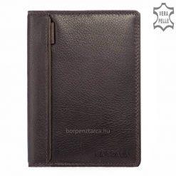Minőségi, tartós prémium marhabőrből készült, klasszikus nagyméretű LA SCALA bőr irattartó pénztárca hagyományos belsővel. Több színben.