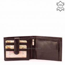 Minőségi marhabőr felhasználásával készült elegáns férfi bőr pénztárca díszdobozba csomagolva, így ajándéknak is tökéletes.