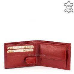 Piros színű, minőségi női bőr pénztárca típusunk a Synchrony termékcsalád tagjai, valódi bőrből készültek ezek a kis méretű pénztárcáinkis.