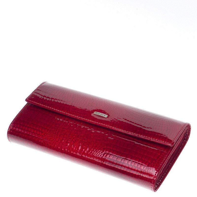 Nicole Croco ketetes női pénztárca több felületi mintával C72402 dc377d10b6