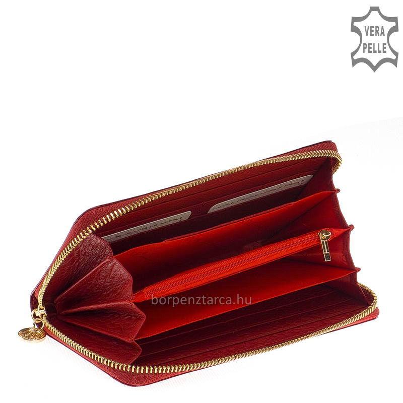 0601bb1d6ea7 Nicole Croco női bőr pénztárca több felületi mintával C77006
