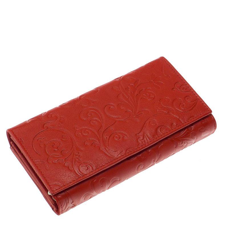 Női pénztárca nyomott mintával NY-4 - Bőrpénztárca Webáruház 271c6435e5