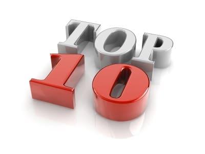 Top 10 pénztárcák