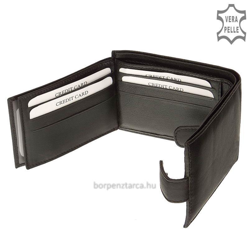 S.Belmonte bőr férfi pénztárca 102 T - Bőrpénztárca Webáruház 356c31e3a2