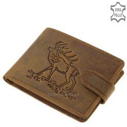 Férfi pénztárca szarvasmintával