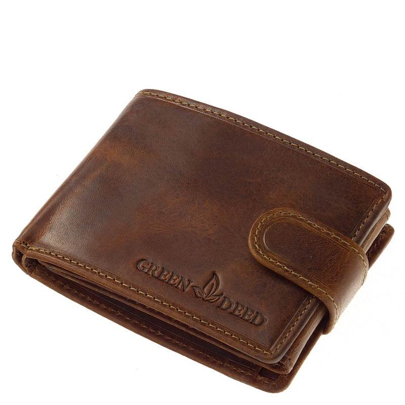 Natural GreenDeed kisméretű férfi pénztárca KA102 T - Bőrpénztárca ... fa7c0802a1