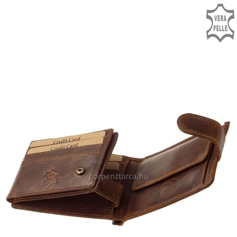 0f22aa249f Natural GreenDeed kisméretű férfi pénztárca KA102/T - Bőrpénztárca ...