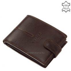 Klasszikus hatású VESTER LUXURY márkájú, elegáns férfi minőségi gyártású bőr pénztárca prémium kategóriájú valódi bőrből. Díszdobozban!
