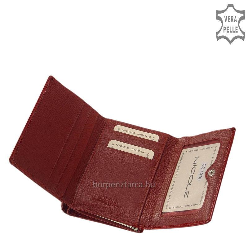 Nicole bőr női pénztárca több felületi mintával C47009 19d565ab14