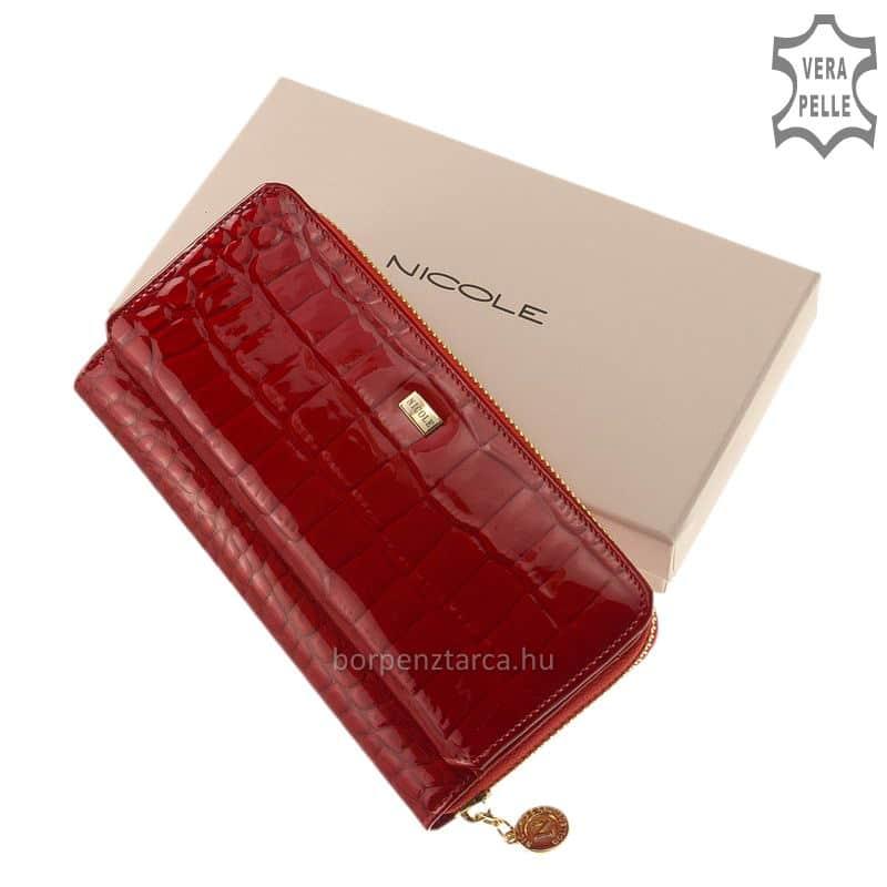 Nicole bőr női pénztárca több felületi mintával C73001-017 89e12c96ba