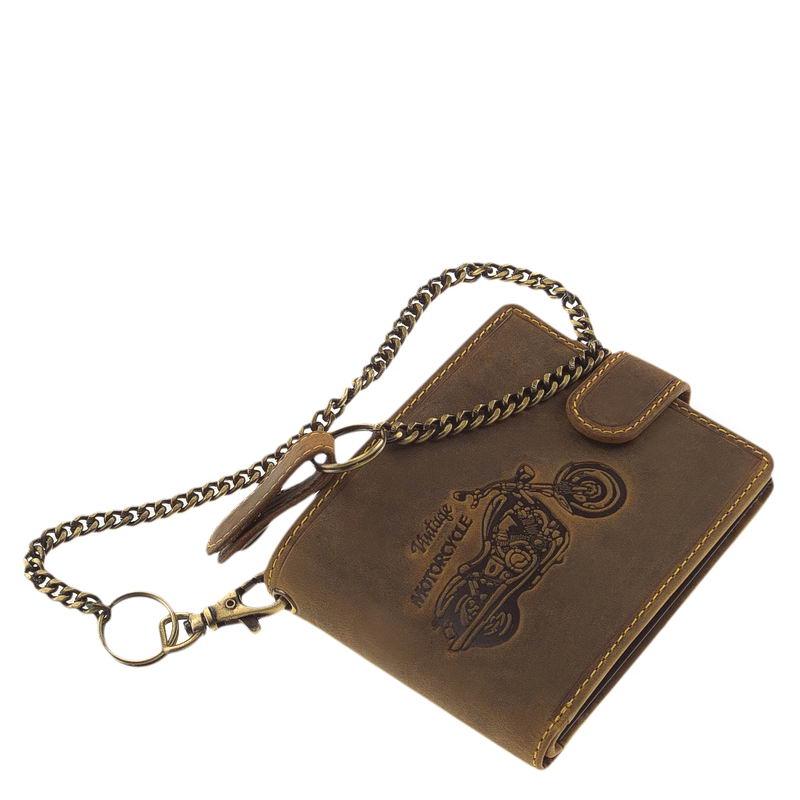 GreenDeed férfi pénztárca motor mintával A1M99 T - Bőrpénztárca áruház 77542609d2