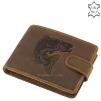 GreenDeed horgász pénztárca süllő mintával AS99/T