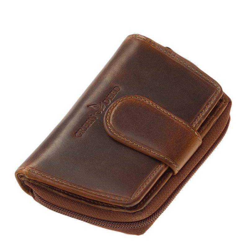 cb229df3d52d GreenDeed Natural bőr női pénztárca KA04 - Bőrpénztárca Webáruház
