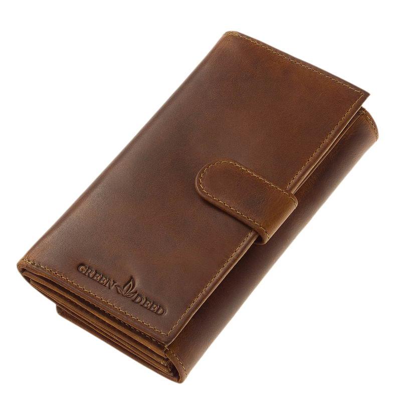 70ee145d9f94 Női pénztárca naturál bőr GreenDeed KA155 - Bőrpénztárca webáruház