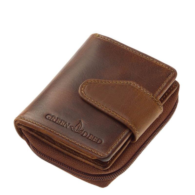 6fa591d4e9e2 Női pénztárca natural bőr GreenDeed KA181 - Bőrpénztárca webáruház