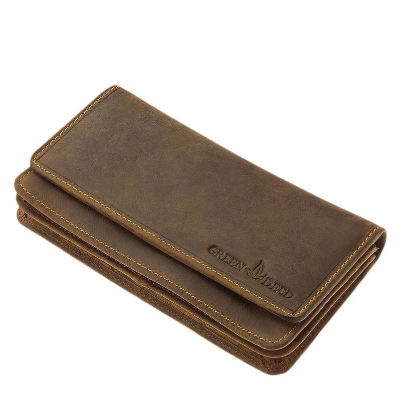 2aa5a49b9175 Bőr női pénztárca GreenDeed OP109 - Bőrpénztárca Webáruház