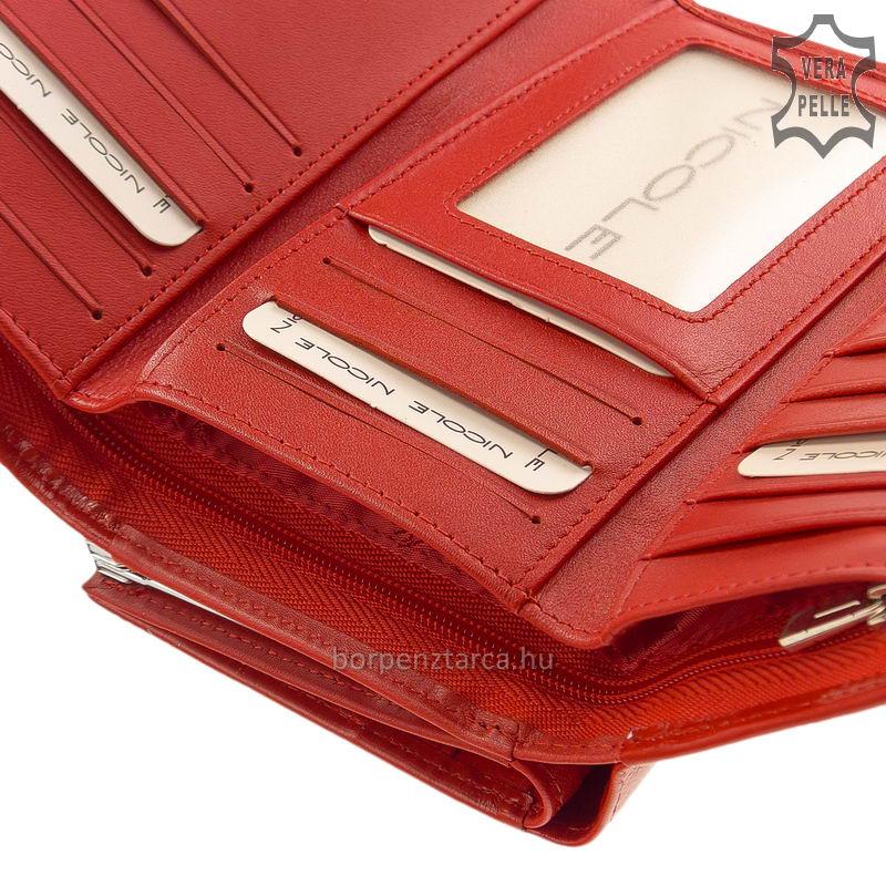 Női bőr pénztárca Nicole 55040 - Bőrpénztárca webáruház 45be399b5d