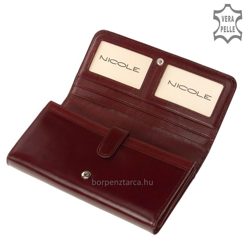 Nicole női bőr pénztárca 74020 - Bőrpénztárca Webáruház f45f88d1b7