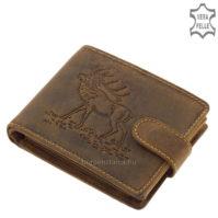 GreenDeed vadász férfi pénztárca szarvasmintával ASZ1021/T