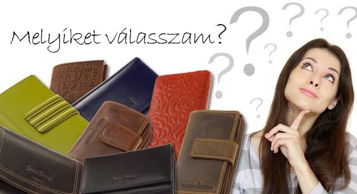 Milyen női pénztárcát válasszak?