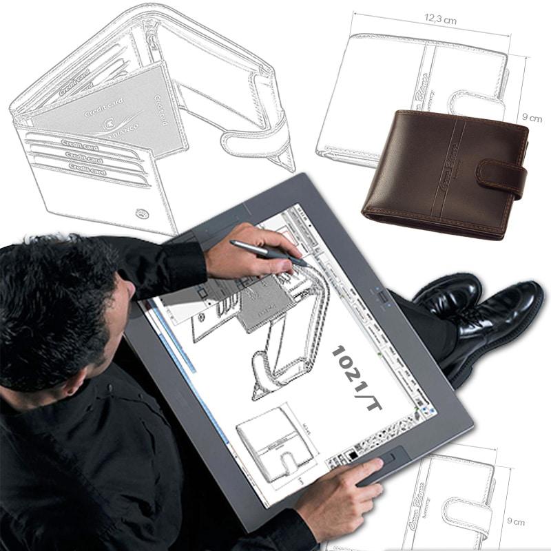 Új pénztárca modell tervezés közben