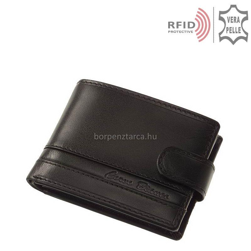 Csíkbetétes Corvo Bianco RFID férfi pénztárca RCCS1027 T 7c639243ce