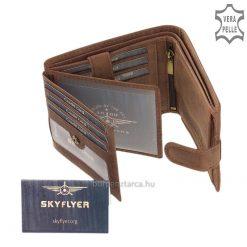 SKYFLYER férfi bőr pénztárca SVL6002L/T