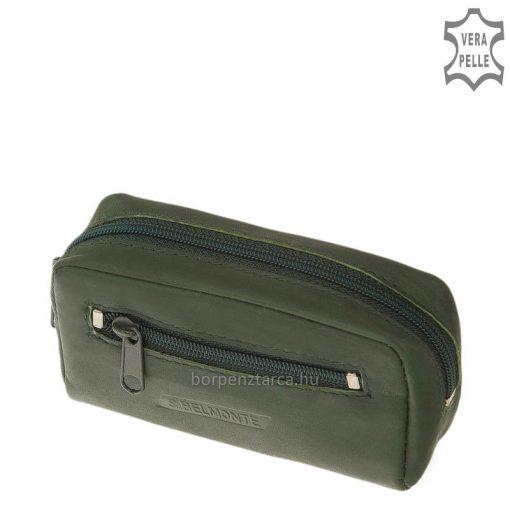Minőségi valódi bőrbőlkészült unisex S Belmonte márkás klasszikus bőr kulcstartó mely pénztárcánk praktikus kiegészítője lehet.