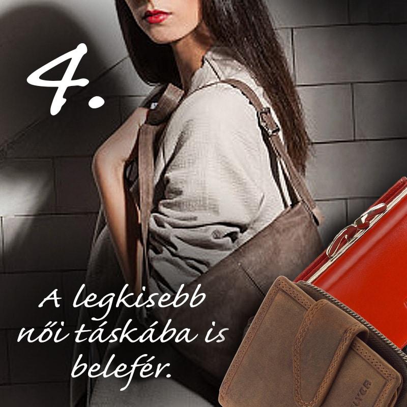 Kisméretű női pénztárca táskában 4. rész - Bőrpénztárca webáruház 5ed4b3c111