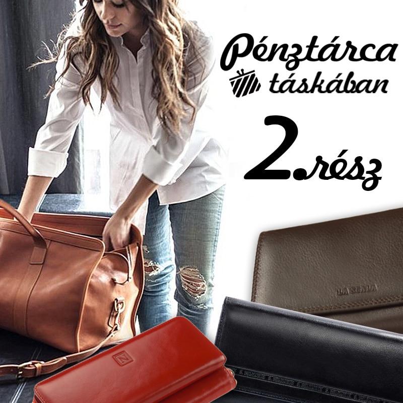 Női pénztárca táskában 2. rész