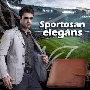Sportosan elegáns GreenDeed pénztárca kollekció