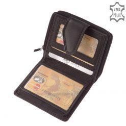 Praktikus, kis méretű pénztárca AK81-FEKETE - belső kép 1