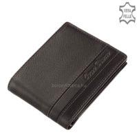 Corvo Bianco elegáns pénztárca SFC09-FEKETE