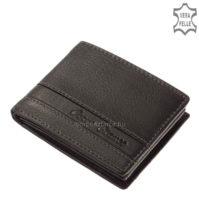 Corvo Bianco elegáns pénztárca SFC102-FEKETE