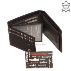 Corvo Bianco elegáns pénztárca SFC102-FEKETE - belső kép 4