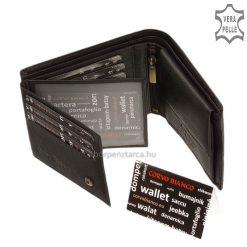 Corvo Bianco elegáns pénztárca SFC1021-FEKET - belső kép 4