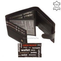 Corvo Bianco elegáns pénztárca SFC102/T-FEKE - belső kép 4