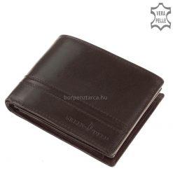 Kiváló GreenDeed termékcsaládunk egyik legújabb dekoratív modellje ez a minőségi, igazi bőrből gyártott, stílusos bőr férfi pénztárca.
