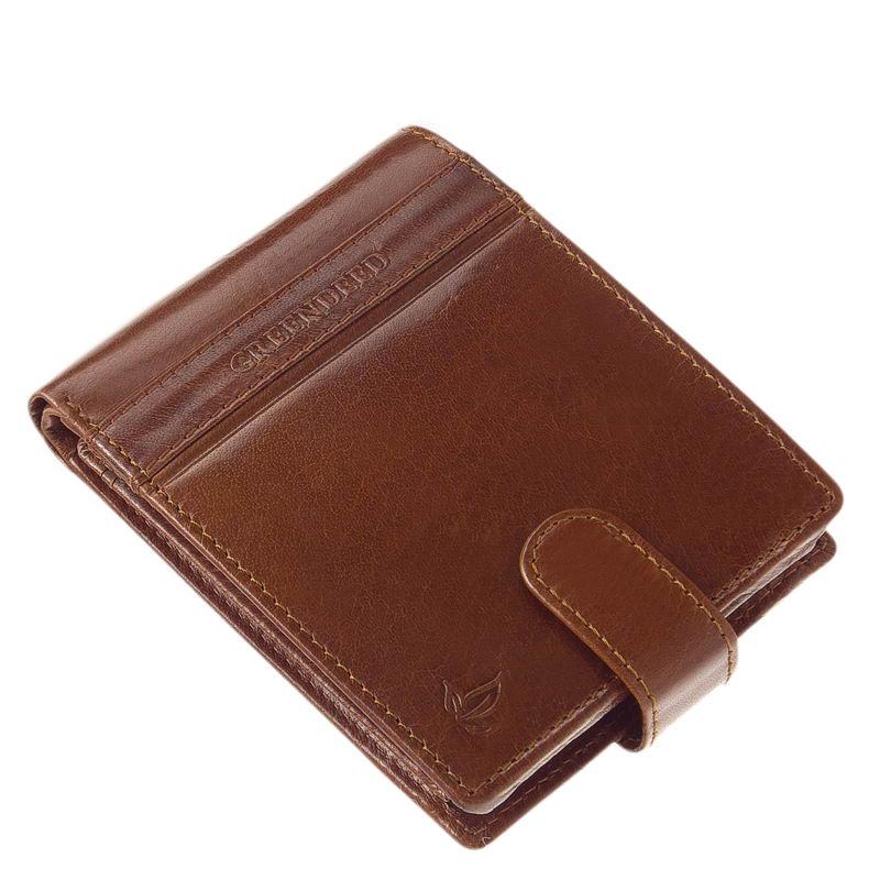 820677ebd41b Valódi bőr pénztárca díszdobozban GreenDeed PA702/T