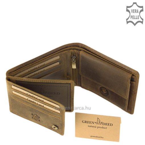 farkas mintával díszített pénztárca