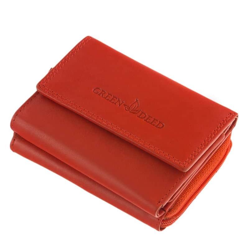 Női pénztárca kis méretben GreenDeed CVTRI36 - Bőrpénztárca 0266406868