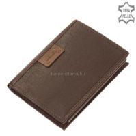Bőr irattartó pénztárca