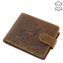 vadász férfi pénztárca gímszarvas mintával